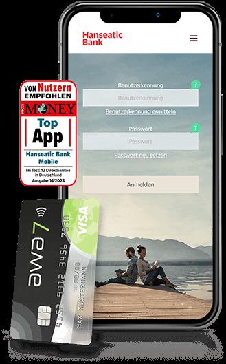 App Hanseatic Bank Mobile Awa7